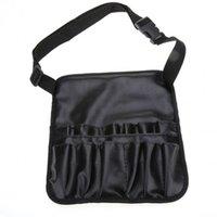 artist handbags - Woman Bag Handbag Cosmetics Fashion Handbag Black Artist Essential Make Up Pocket Bag Case With Belt