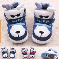 baby rock shoes - 2015 New Hot Newborn Baby Boys Girls Kids Shoes Cute Cartoon Rock Dog Pups Infant Toddler Prewalker Cotton Padded Shoes Boots