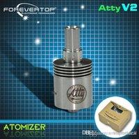 Cheap electronic cigarette atomizer atty V2 atomizer clone
