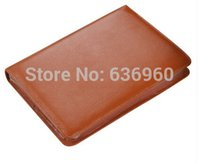 leather notebook with calculator - New hot Cowhide leather zipper manager folder loose leaf notebook A5 leather high grade business notebook with calculator
