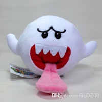 Wholesale New Super Mario Bros quot Boo Ghost Soft Plush Doll Toy Stuffed Animal