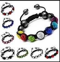 jewelry paris - Fine jewelry hug Paris shambhala bracelet Shamballa Bracelets drill the ball mm fashion bracelet