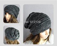 Wholesale New arrival hip hop Melaleuca folds women Color mixing woolen hat hip hop autumn winter women beanies warm Knitting cap