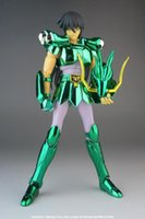 action speed - New Arrival Speed Saint Seiya Myth Cloth Draco Shiryu Dragon Action figure Toy Model With Metal Armor