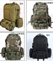 Wholesale 50L Military Large Molle Tactical Day Assault Rucksacks Backpack Outdoor Camping mountaineering Bag