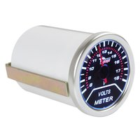 auto voltage gauge - 2 quot mm V Voltage Meter Gauge Voltmeter for Auto Car With Led Display CEC_526