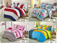 Wholesale 2016 household bedding four fat bedding bag four piece set of modern style