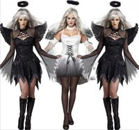 anime bride - Halloween costume witch cosplay with wings all saints take sexy costumes zombie stage under appeal female the ghost bride demons