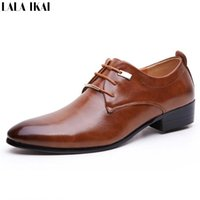 Wholesale 2016 Hot Sale Men Dress Shoes Soft Leather Pointed Toe Classic Fashion Business Oxford Shoes for Men Derby Shoes XMC0165