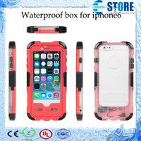 red pepper - Redpepper Red pepper Waterproof Shockproof Dirtproof Hard PC Plastic Cover Case For Iphone With Retail Package wu