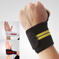 Wholesale Adjustable Wrist Palm Support Strap Brace Band Hand Arthritis Gym Protector New gym Wrist Guards
