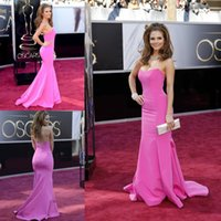 Wholesale 2015 Hot Sweetheart Maria Menounos Academy Awards Dresses Celebrity Mermaid Red Carpet Evening Gowns Formal Dresses