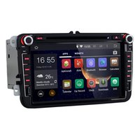 Wholesale 8 inch Din Android Car DVD Video Player For VW Volkswagen Passat B6 Skoda Octavia Navi GPS Radio VW Canbus Free GB Map Card