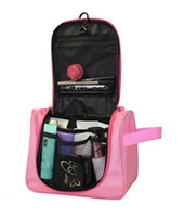 toiletry bag - 25 cm waterproof woman man Travel Mate Multifunction hanging cosmetic bags makeup toiletry purse holder wash bag organizer
