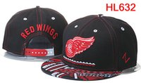 Wholesale wholelsale price Red Wings Hats Snapback baseball Snap Back with Top Quality Ball Caps Adjustable Sports Cap for adult men and women