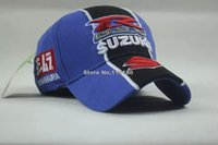 Wholesale New Suzuki F1 Racing Car Team Embroidery Cotton Sports Baseball Hat Cap
