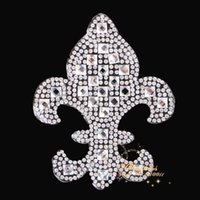 hot-fix for rhinestone - Anchor Design Hot Fix Rhinestones Motifs Iron On Heat Transfer Applique Strass Crystal Patch For T Shirt Pant Clothing