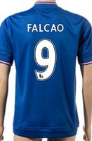 Soccer Jerseys Chelsea FC Fútbol Jersey Uniformes 2015 2016 15 16 Kits Tailandia AAA barato Ropa Rebajas Casa Lejos tercera Azul Negro Blanco