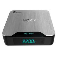 Wholesale MXV Plus S905 TV Box Free Wifi Google Box GB GB Quad Core Kodi Media Player Top Android TV BOX