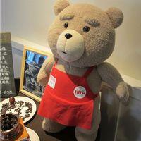 ted - 2016 Movie Teddy Bear Ted Plush Toys In Apron CM Soft Stuffed Animals Ted Bear Plush Dolls