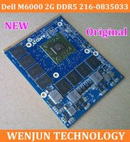 Wholesale Brand NEW for Dell M6000 G DDR5 VGA card For Dell M6700 M6600 M6800 M4800 FHC4H FHC4H graphics card laptop order lt no track
