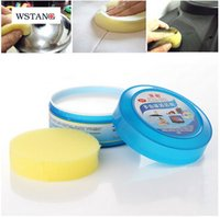 Wholesale W S TANG New Multi function cleaning paste household cleaning tools leather automobile appliance care cream magic cream Sponges