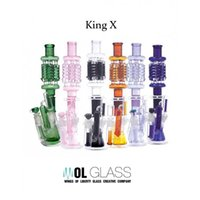 7.0 inch - Glass Bong Wings of Liberty King X Inch mm mm Female Joint Bolb Big Bong Water Pipe Bong Smoking Pipe