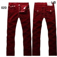 Wholesale Army Camouflage MEN Jeans New Arrival U S famous Brand Try designer Jeans Men Pants Casual Corduroy Ture Camo Jeans size