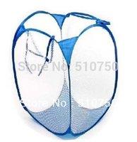 Wholesale Foldable Pop Up Washing Laundry Basket Bag Bin Hamper Storage multicolor