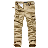 animal cargo shipping - Mens joggers casual Pants military army cargo combat Loose work pants Outdoors Zipper Casual Dress size