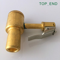 air tool connectors - Clip On Air Chuck Quick Connector Original Brass Thread V1 Tire Tyre Repair Tool
