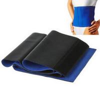 Compra Body wrap slimming-500PCS moda de Nueva Hot Sauna neopreno Body Fitness Wrap grasa celulitis Quemador adelgaza Shaper Cinturón