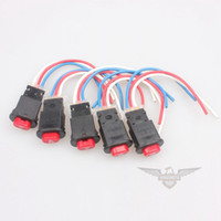 Wholesale x Motorcycle Moped Scooter Hazard Warning Lamps Switch w Wires Roketa Sunl Taotao GY6