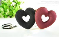 america tools - 2016 new heart shaped donuts plate hair fashion in Europe and America Fan children love circle bud head ball head plate made tools