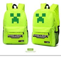Wholesale Leisure Minecraft JJ popular leisure travel backpack kinds of style bag bag for birthday present