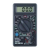 Wholesale DHL Fedex AC DC OHM Voltmeter w BUZZER DT830D Digital Multimeter