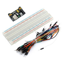 Wholesale Hot Sale High Quality Brand New MB102 Power Supply Module V V Breadboard Board Point Jumper cable for