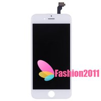 Wholesale Original LCD Display Touch Digitizer Complete Screen with Frame Full Assembly Replacement for iPhone white black C
