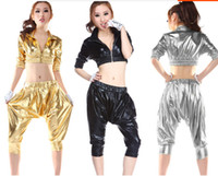 stage costumes - Brand New Party supplies Jazz dance clothes ds stage costumes HIP HOP harem style fashion suit sexy nightclub clothing