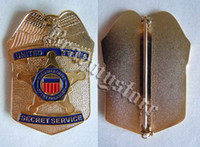 Wholesale light American Empire T service U S Secret Service large metal badge badge