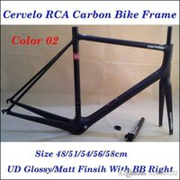 Wholesale Factory Price Cervelo RCA R5 Road Carbon Bike Frame UD Finish Road Bicycle Frames With BB Right cm Frames