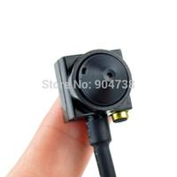 Wholesale Mini Camera CCTV Security Surveilance Micro Camera Cone TVL Camera Audio Wired Camera