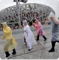 plastic raincoat - Disposable Adult Emergency Waterproof Raincoat Hood Poncho Camping Plastic Raincoat Sale