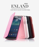 Wholesale Original KALAIDENG England Series Leather Case For Samsung Galaxy S4 Active i9295 Folio Wallet Case For Samsung