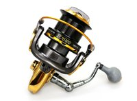 Wholesale 8000 BB Sea Fishing Reel Saltwater Aluminum Metal Spool Pinning Fishing Reel Gear ratio Anti reverse Fishing Gear