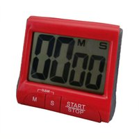 Wholesale Hot Worldwide Large LCD Digital Kitchen Timer Count Down Up Clock Loud Alarm
