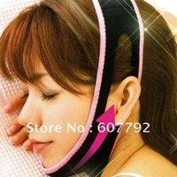 Wholesale Free DHL Shipping Slimming Face Belt D Face Slimming Shaping Cheek Uplift Sleeping Blet