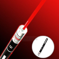Wholesale 1pcs car Powerful nm mw Light Beam Red Laser Pointer Pen caneta laser
