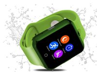 Android alarm clcok - 50PCS DHL free touch screen bluetooth wristwatch with phone call monitor pedometer marguee lamp alarm clcok motion D3