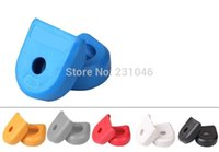 Wholesale 2Pcs MTB Mountain bicycle Fixed Gear Carbon Fiber Crankset Crank Protector Case RACEFACE Cover Cap Sram XX1 X0 M980 M670 M780